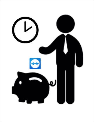 Banque d'heures TeamViewer